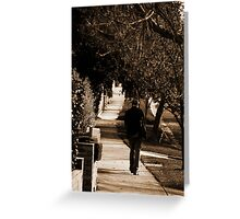 Melbourne Suburbia Greeting Card