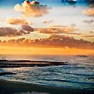 Newcastle Beach and Baths by Rae Marie Threnoworth