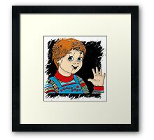 Good Guys Toys - Inspired by Child's Play (Chucky) Framed Print