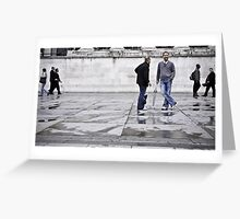 Man about town Greeting Card