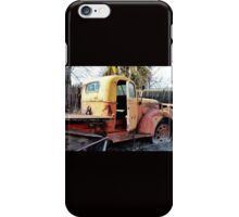 Retired Truck in the Orchard iPhone Case/Skin