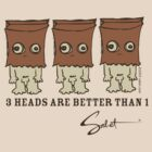 3 Heads are Better Than 1! By Sabet Brands! by sabet