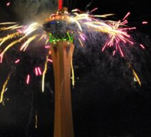 New Year's Eve Fireworks Sticker
