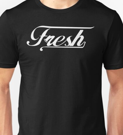Fresh Lines [White Ink] | OG Collection Unisex T-Shirt