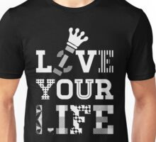 Live Love Your Life [White Ink Version 2] | OG Collection Unisex T-Shirt