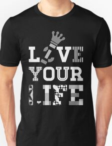Live Love Your Life [White Ink Version 1] | OG Collection T-Shirt