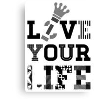 Live Love Your Life Version 1 | OG Collection Canvas Print