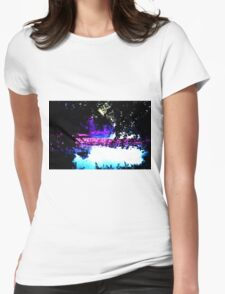 Place of Peace Womens Fitted T-Shirt