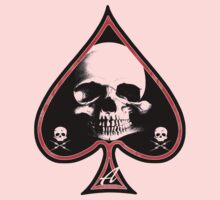Ace of Spades Death Card Kids Clothes