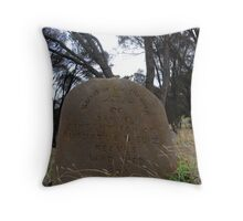 Kingscote Cemetary Throw Pillow
