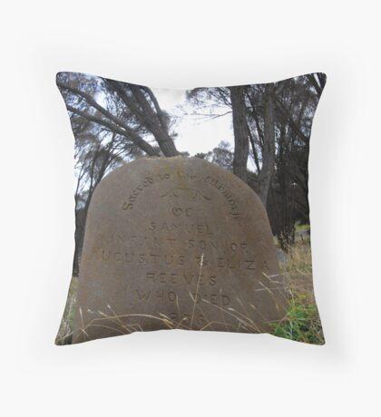 Kingscote Cemetary Throw Pillow