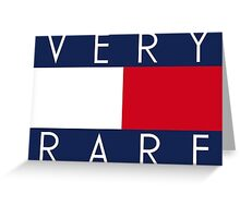Tommy Hilfiger Very Rare Greeting Card