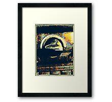 MODERN abstract PHOTO ART Framed Print
