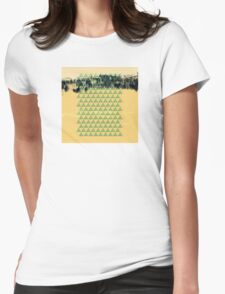 Digital Landscape #8 Womens Fitted T-Shirt