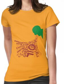 A Clockwork Red Womens Fitted T-Shirt