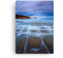 Tesselated Twilight Canvas Print