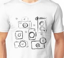camera doodles Unisex T-Shirt