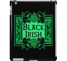 BLACK IRISH with Celtic Art Frame iPad Case/Skin