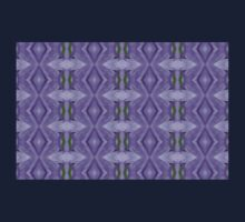 Purple Peacock Pattern Kids Clothes