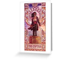 The Captain Greeting Card