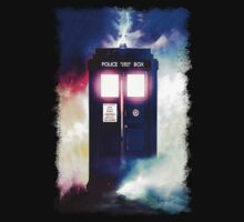 Tardis Cloud Art Painting by neutrone