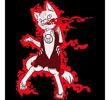 The rage kitten, Dex-Starr Photographic Print