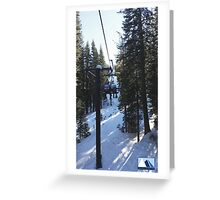 Snowy Scene 4 Greeting Card