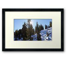 Snowy Scene 5 Framed Print