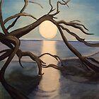 Hauntingly Beautiful...South Carolina Coast by Karen L Ramsey