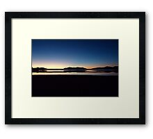 Lake Moondarra Framed Print
