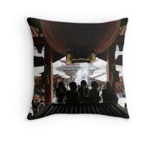 Asakusa Kannon Temple prayer Throw Pillow