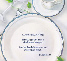 St. John 6 :35 by Onediamond2