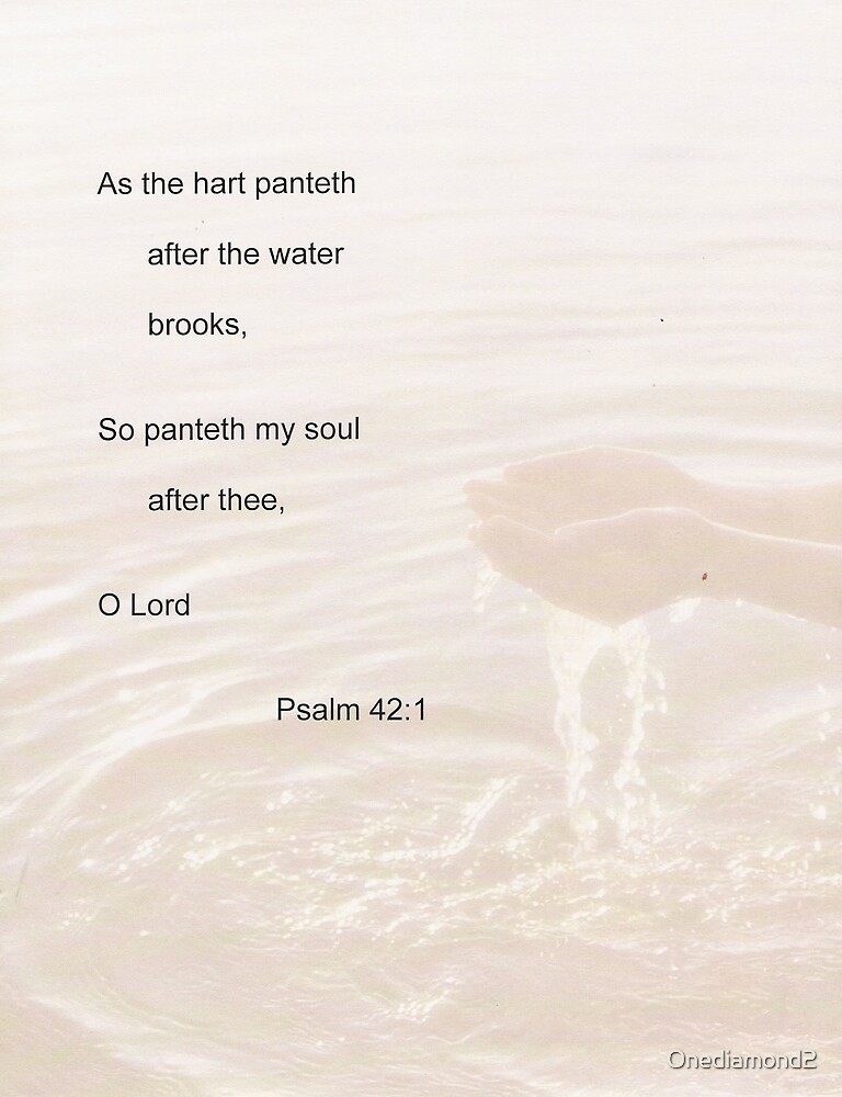 Psalm 42:1 by Onediamond2