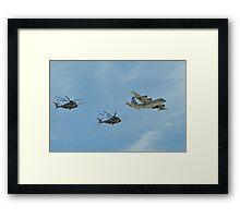 Aerial Refueling Framed Print