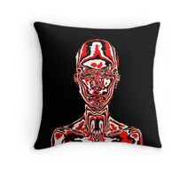 In The Skin Throw Pillow