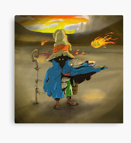 Vivi's Fire Canvas Print