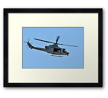 UH-1Y Huey Helicopter Framed Print