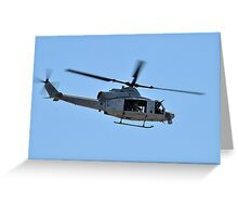 UH-1Y Huey Helicopter Greeting Card