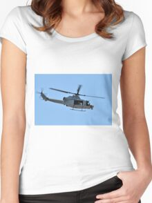 UH-1Y Huey Helicopter Women's Fitted Scoop T-Shirt