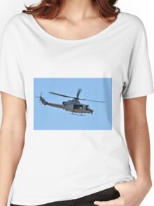 UH-1Y Huey Helicopter Women's Relaxed Fit T-Shirt