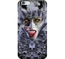 biomechanical vampire woman iPhone Case/Skin