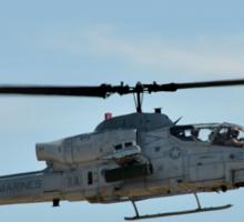 AH-1Z Super Cobra/Viper Helicopter Sticker