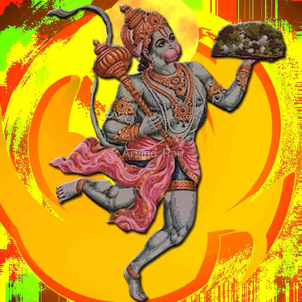 Lord Hanuman by artyrau