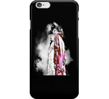White and Pink(man) iPhone Case/Skin