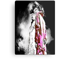 White and Pink(man) Metal Print