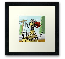 I've got a Thor Thumb! Framed Print