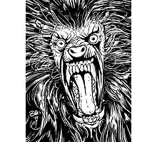AMERICAN WEREWOLF IN LONDON BLACK AND WHITE Photographic Print