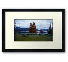 Beautiful Lake Manapouri...at dawn Framed Print