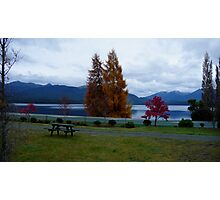 Beautiful Lake Manapouri...at dawn Photographic Print