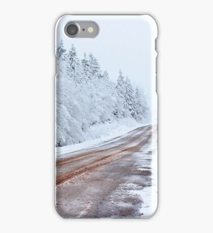 Rough Roads Ahead iPhone Case/Skin